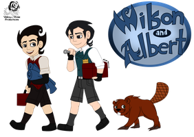 DS: Wilson and Albert by Aileen-Rose