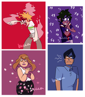 my children (and bakugou is there too) by notbecca