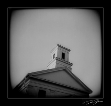 holga church by electricjonny