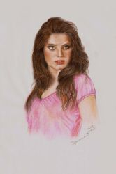 Coloured pencils 2008 by JoannaMoory