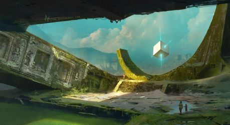 The Cube of destiny by crazypalette