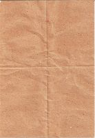 Creased Brown Paper by kizistock