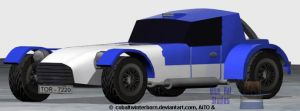 Low Poly - Sports Car by CobaltWinterborn