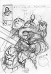 Camelot Chronicles Cover Sketch by alessandromicelli