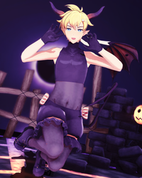 YYB INCUBUS Len + DL by KagaBooty