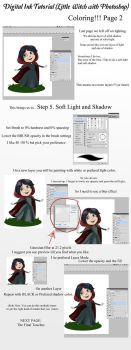 Little Witch Tutorial - Coloring Page 2 by ZellyKat