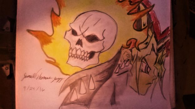 Ghost Rider and Yu-Gi-Oh -SkooB 9/24/16 by SkoobyForever