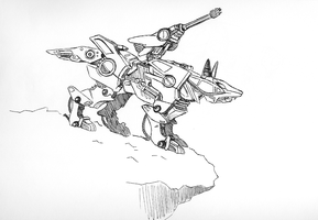 Zoids Kick Ass by arcticfoxie