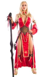 Jenny Poussin as Viking Seoni by ElvenTailor