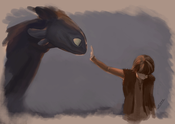 4 - How to Train your Dragon [16 Days Challenge] by S-E-Sagas