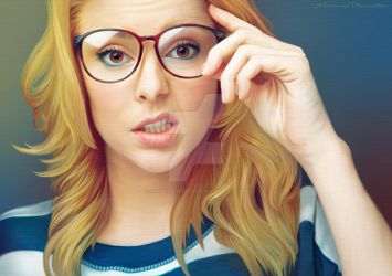 Grace Helbig by Shannon-Posedenti