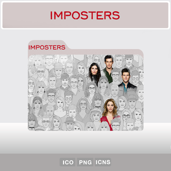 Imposters S02 (Folder Icon) by YosemiteDesign