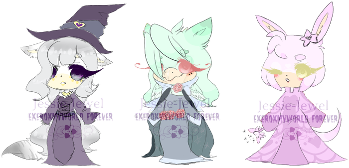 Point and paypal adopts~open~ by Jessie-Jewel