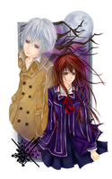Vampire Knight: Mangetsu by paper-and-stars