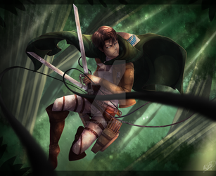 Captain Levi by ArtOfWeikert