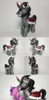 King Sombra G4 Custom Pony by Oak23