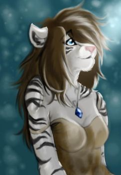 Tiger Girl by Mouva