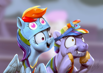 Rainbow Spotlighting by AssasinMonkey