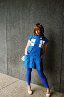 Blue Box Dress by Tess-san