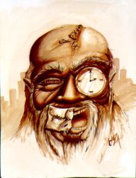 father time by therealganza