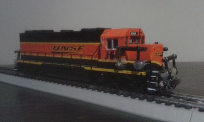 BNSF Engine 3001 by spencerbt123
