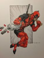 Deadpool - Save the 'changas! by amonkeyonacid