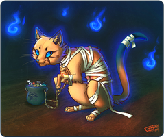 The Mummy Cheshire by Merystic