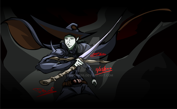 Vampire Hunter DDDDD by neochilds