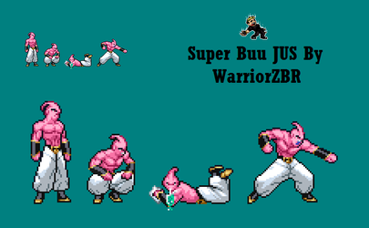 Super Buu JUS Preview by WarriorZBR