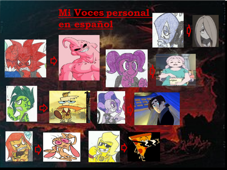 7DS: my favorite personal voices by yogelis