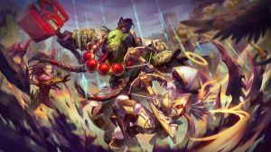 Heroes of the Storm by JoFang-Art