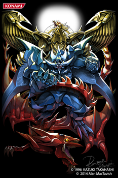 Rage Of The Egyptian Gods  (Card sleeve) by AlanMac95