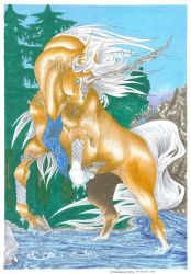 Glorfindel (Feral) by AndromedasWitchery
