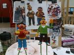 Bert and Ernie sculpt by Speezi