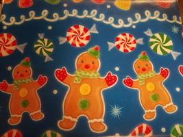 Gingerbread Wrapping Paper by Silvermoonlight217