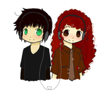 eleanor and park~sketch by nuggetninja
