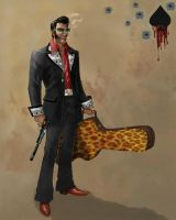 Elvis' Evil Brother by mosingo