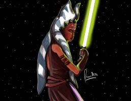 Ahsoka tano lost in space by furgy12