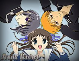Fruits Basket: Love Triangle by BubblesMakeMeHappy
