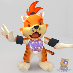 Meowser Jr finished by HG-The-Hamster