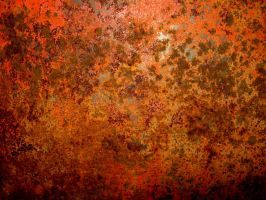 Orange Rusty Texture by RavenMaddArtwork