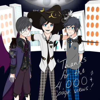 Thanks for the 4000+ page views! by Jyiscool