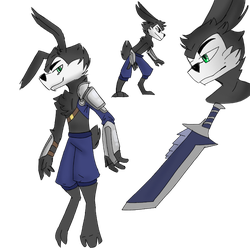 Oswald Refrence (Heroes of Wasteland) by ElementalFact0r74