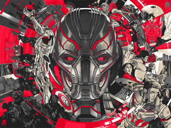 Avengers Age of Ultron by Aseo