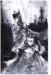 BATMAN AND ROBIN by Peter-v-Nguyen