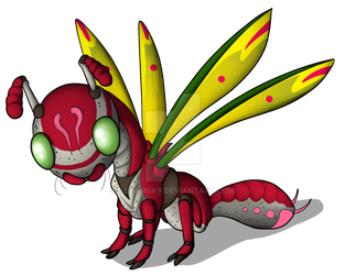 Dragonfruit Deergonfly adopt by AltairSky