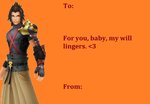 Terra Valentines Day Card by NinjaJaffaCake