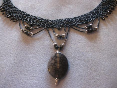 Netted Necklace VI by Shananagins1974
