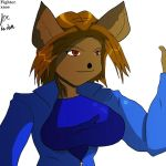 Zeinab sketch colored by fighterxaos