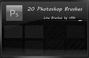 20 Line Brushes by rflfn